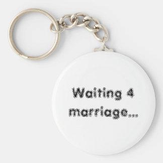 Casamento 4 de espera… chaveiro
