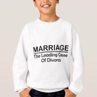 Casamento: A causa de divórcio principal T-shirt
