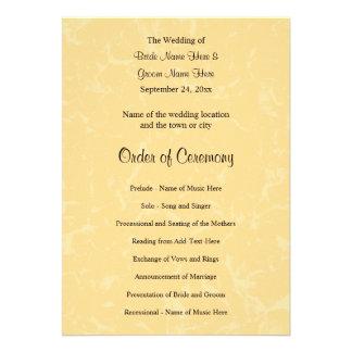 Casamento amarelo e preto com teste padrão subtil