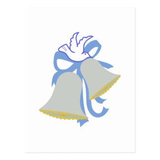 Casamento Bels da pomba Cartão Postal