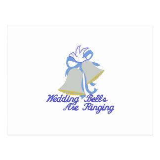 Casamento Bels de soada Cartão Postal