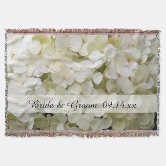 Casamento branco da flor do Hydrangea Manta