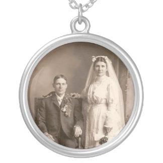 Casamento Colar Banhado A Prata
