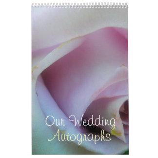 Casamento cor-de-rosa do Lilac Calendário