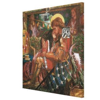 Casamento de St George, princesa Sabra por Impressão Em Canvas