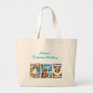 Casamento de Tahitian Bolsas Para Compras