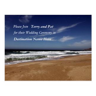 Casamento do destino cartoes postais