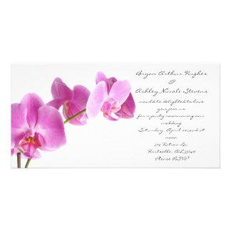 casamento do primavera cartão com foto