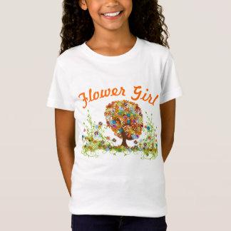 Casamento Enchanted do ramo lateral da floresta T-shirts