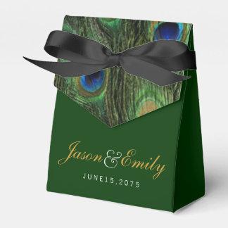 Casamento esmeralda do pavão lembrancinhas para casamento