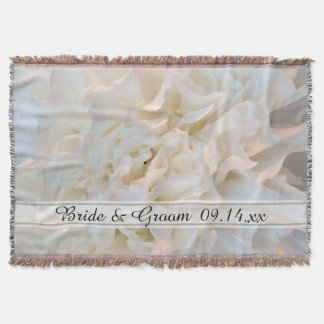 Casamento floral do cravo branco coberta