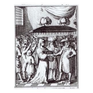 Casamento judaico cartão postal