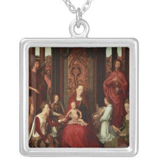 Casamento místico de St. Catherine e outros santos Colares Personalizados