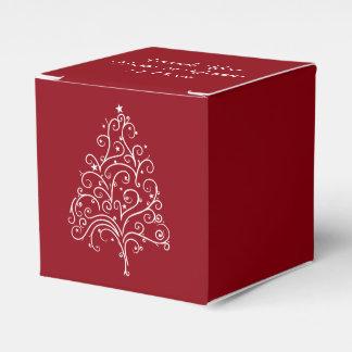 Casamento no inverno vermelho da árvore de Natal Lembrancinhas Para Casamento