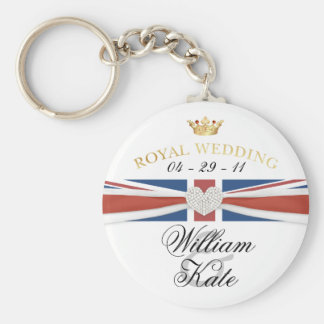 Casamento real - príncipe William & coleções de Ka Chaveiro