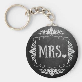 """Casamento """"Sra. """"do quadro Chaveiro"""