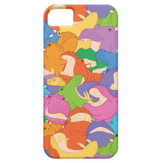Casco iPhone Hipopótamos Capas Para iPhone 5