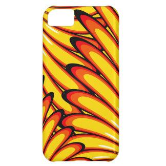 case mate amarela abstrata do iPhone 5 dos Capa Para iPhone 5C
