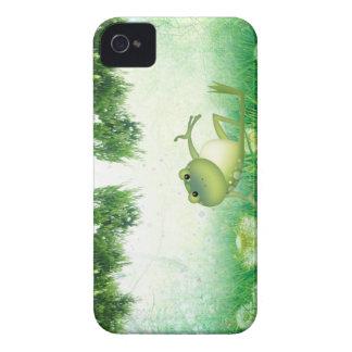 Case mate corajosa de Blackberry do sapo do pântan Capa De iPhone 4 Case-Mate