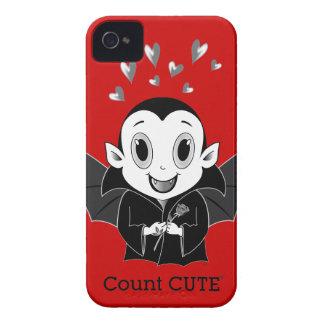 Case mate corajosa de Cute® Blackberry da contagem Capa Para iPhone 4 Case-Mate
