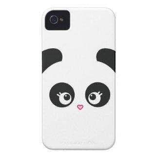 Case mate corajosa de Panda® Blackberry do amor ma iPhone 4 Capa