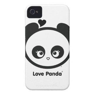 Case mate corajosa de Panda® Blackberry do amor ma Capa iPhone 4
