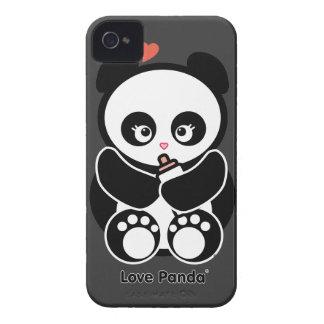 Case mate corajosa de Panda® Blackberry do amor ma Capas iPhone 4 Case-Mate