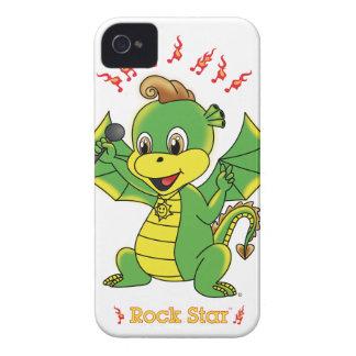 Case mate corajosa de Rockstar™ Blackberry do Capas Para iPhone 4 Case-Mate