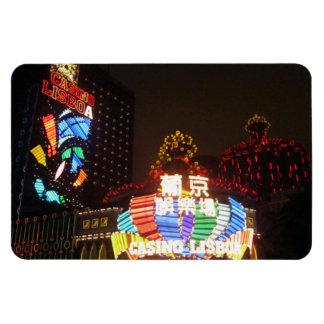 casinos de macau foto com ímã retangular