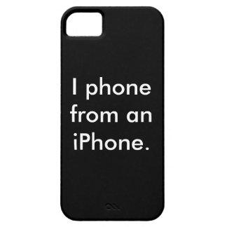 Caso à moda do preto iPhone/iPad Capa Barely There Para iPhone 5