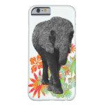 Caso bonito do iPhone 6 do elefante do Hippie Capa Slim Para iPhone 6