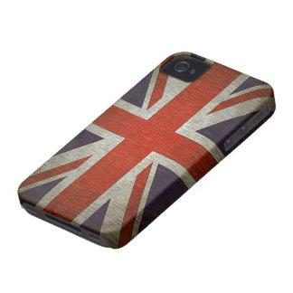 Caso britânico BRITÂNICO do iPhone 4/4S da Capa Para iPhone