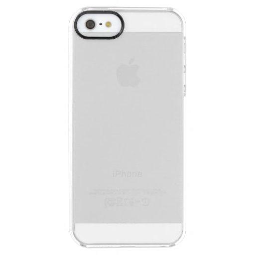 Custom iPhone SE + iPhone 5/5s Capa Clearly™ Deflector