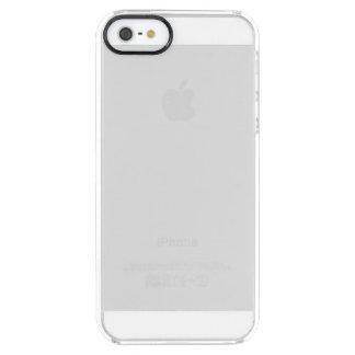 Caso claro do iPhone 5 feitos sob encomenda Capa Para iPhone SE/5/5s Transparente