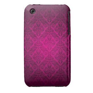 Caso cor-de-rosa do blackberry curve do design do capa para iPhone 3