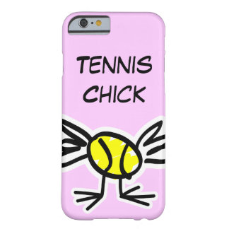 Caso cor-de-rosa do iPhone 6 com design do tênis Capa Barely There Para iPhone 6