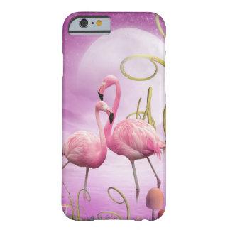Caso cor-de-rosa lunático do iPhone 6 dos Capa Barely There Para iPhone 6