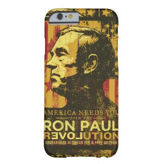 Caso da revolução de Ron Paul Capa Barely There Para iPhone 6