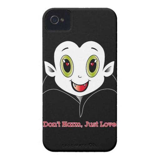 Caso de Cute® Blackberry da contagem iPhone 4 Capas