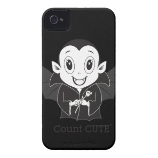 Caso de Cute® Blackberry da contagem Capinhas iPhone 4