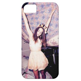 Caso de Iphone 4/4S do Grunge da menina de dança Capa Para iPhone 5