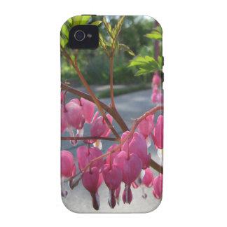 Caso de Iphone 4S dos corações de sangramento Capinhas iPhone 4/4S