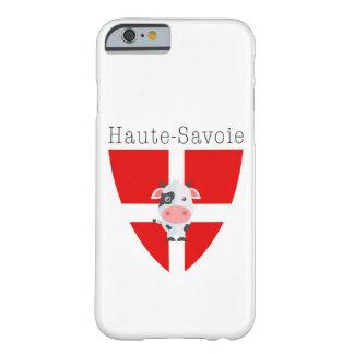 Caso de IPhone 6/6S da vaca de Haute-Sabóia Capa Barely There Para iPhone 6
