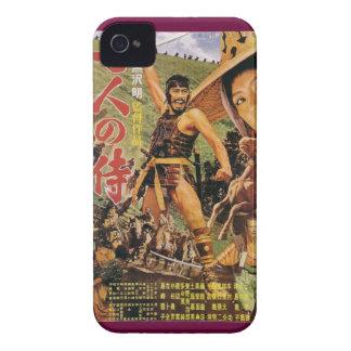 Caso de Kurosawa Blackberry do vintage de sete Capinha iPhone 4