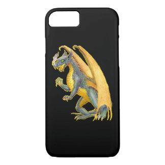 Caso de respiração do iPhone 7 do dragão do fogo Capa iPhone 8/7