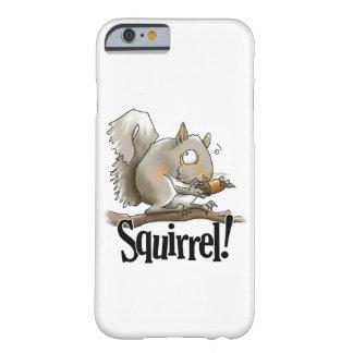 Caso de Smartphone do esquilo Capa Barely There Para iPhone 6