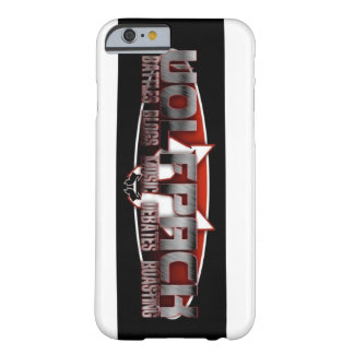 Caso de WolfPack Iphone 6 Capa Barely There Para iPhone 6