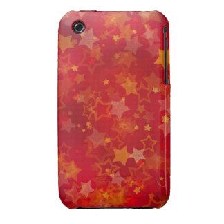 Caso do blackberry curve do design das estrelas do capinhas iPhone