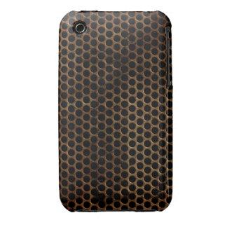 Caso do blackberry curve do design do metal do capas para iPhone 3 Case-Mate