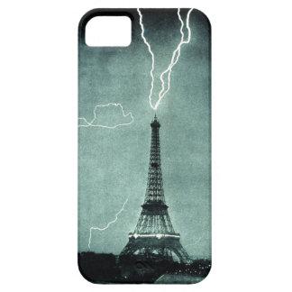 Caso do curto circuito iphone5 da torre Eiffel Capa Para iPhone 5